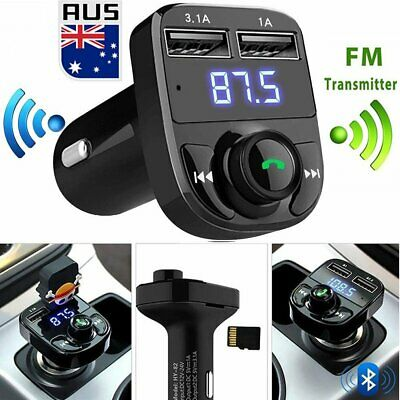 Wireless Bluetooth USB Charger Handsfree Car Kit FM Transmitter LCD MP3 Player