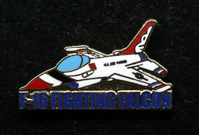 Us Air Force Thunderbirds Nellis Afb Las Vegas F-16 Hat Lapel Pin Up Airshow