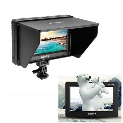 Viltrox DC-70II 4K HD Color TFT Monitor Display HDMI AV Peaking for DSLR Camera