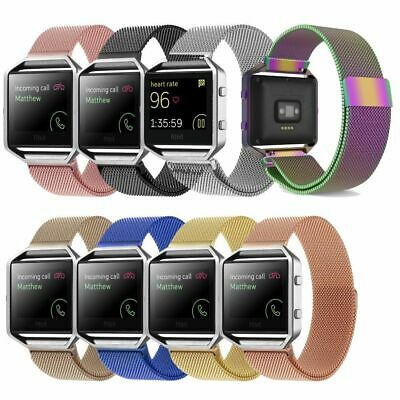 Steel Luxury Band Replacement Wristband Watch Strap Bracelet For Fitbit Blaze AU
