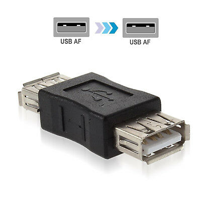 USB 2.0 Type A Female to Female Adapter Coupler Gender Changer Connector Popular