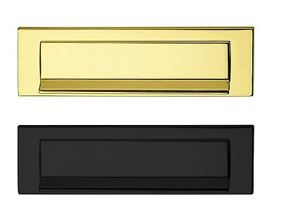 Mail Slot Mailslot Front Door Postklappe 5005 Brass Letter Flap 10 1/8x2 29/32in