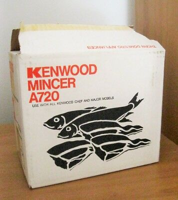 Kenwood Chef Mincer  Attachment A720: Never Used.
