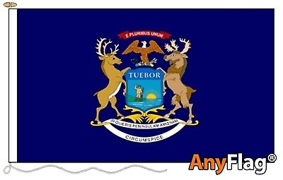 Michigan Custom Made To Order Various Flag Sizes