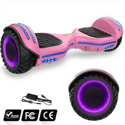 6,5'' Hoverboard Smart Balance Overboard Pedana Scooter Bluetooth Colorful Route