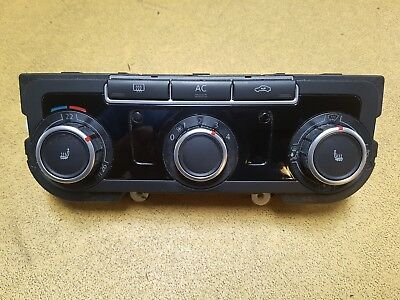 Vw Passat B6 1.9 2.0 Tdi Cr 2005-2010 Air Con Climate Control Panel 3C8907336Ac