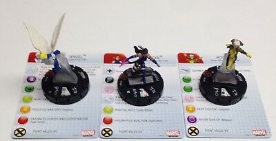 Heroclix Monthly OP Kit X-Men COMPLETE lot of 3 LE figures w/cards! Rogue