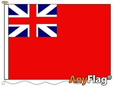 Naval Ensign Red Squadron Custom Made To Order Various Flag Sizes