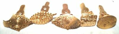 5 Antique-Brass-Or-Bronze-Body-Stamp-Or-Tattoo- Indian