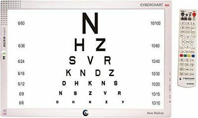 """Snellen LED Visual Acuity Chart 22"""" LED Display with Remote Control"""