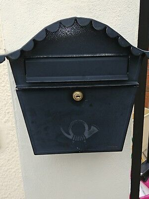 Brabantia Lockable Mailbox Post Letter Box Holder Wall Mounted - Used