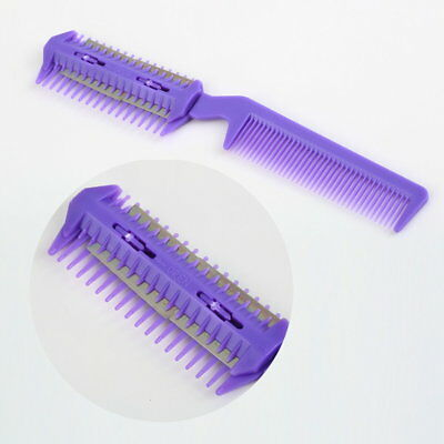 Hair Razor Comb Scissor Professional Home Thinning Trimmer Hairdressing G6