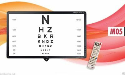 Visual Color LCD Acuity Chart Vision Acuity Digital Chart
