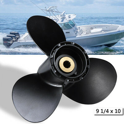 9 1/4 x 10 Boat Engine Aluminum Propeller For Suzuki 8-20HP 58100-93733-019