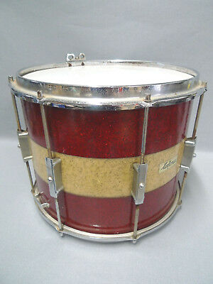 Lefima Paradetrommel 14 Zoll - rot/gold - Marching Drum