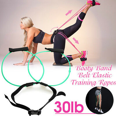 Booty Band Exercise Belt 30LB Body Glute Muscles Trainer Lift & Tone Your Butt