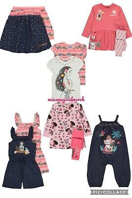 Brand New Girl's Disney Moana Clothing Outfits Dress Top Skirt 7 To Choose From