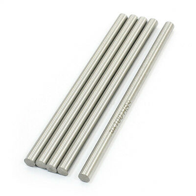 RC Helicopter 100mm x 5mm stainless steel Ground Shaft Round Rod 5Pcs T7T8