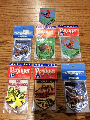 Lot of Voyager Nat'l Park and State Souvenir Patches