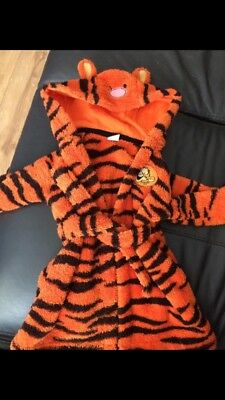 3-6 Month Baby Tigger Dressing Gown