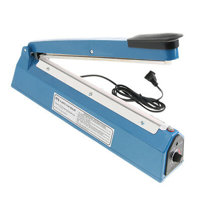 Heat Sealer Plastic Bag Sealing Machine Commercial Type US Plug 13'' 220V