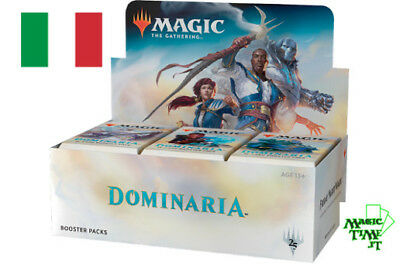 BOX 36 Buste Magic DOMINARIA - Nuovo ITALIANO Sigillato Mtg Booster DOM