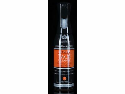 Carr & Day & Martin Belvoir Tack Cleaner Spray-For All Leather and Tack-600ml-BN