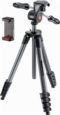 Manfrotto Compact Advanced Smart Tripod (Black) - MKSCOMPACTADV-BK - New Other!