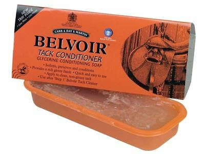 Carr & Day & Martin Belvoir Tack Conditioner Soap Bar-For Leather Tack-250g-BN