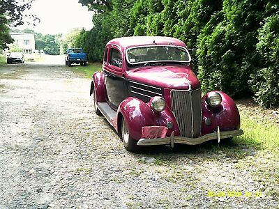1936 Ford Other standard 1936 Ford 5Window Rumble Seat Coupe hot rod rat rod