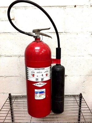 20 lb Amerex CO2 Fire Extinguisher - Fresh Hydrostatic Test - Great Condition