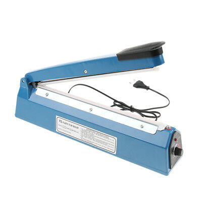 Heat Sealer Plastic Bag Sealing Machine Commercial Type Europlug 13'' 220V
