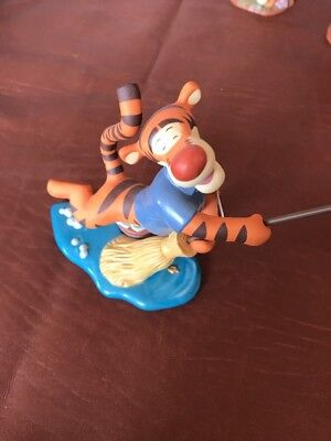 Pooh And Friends Tigger A Bounce A Day Sweeps The Cares Away Figurine