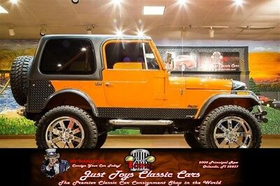 CJ -- 1978 Jeep CJ-7, Orange with 100,492 Miles available now!