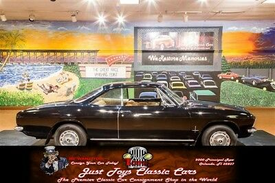 Corvair -- Black Chevrolet Corvair with 90,802 Miles available now!