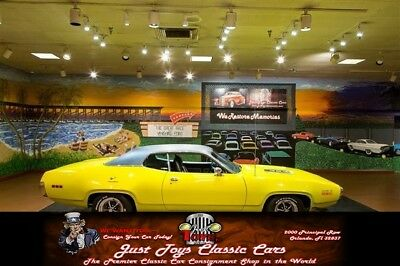 Road Runner -- Curious Yellow Plymouth Road Runner with 1,200 Miles available now!