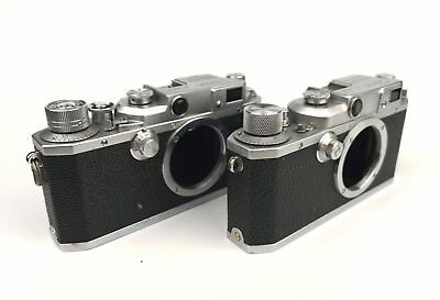 Canon rangefinder Camera Model IIS and IIB, Rare Models, As-Is Condition