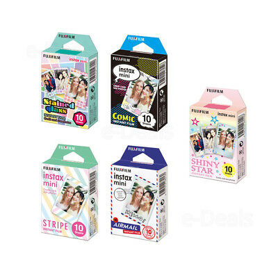 50 Sheets Fujifilm Instax Mini Film for Fuji Mini 9 8 8+ 7s 70 90 SP2 SP1 Camera