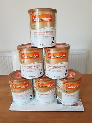 Nutramigen 2 with LGG - 6 x 4000g - Brand New Sealed - Boxed - Hypoallergenic