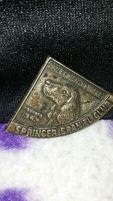 1949 San Fernando Valley Springer Spaniel Club Sterling pin
