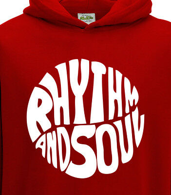 Kids Aretha Franklin Rhythm And Soul Logo Album Cover Vintage Style Hoodie.