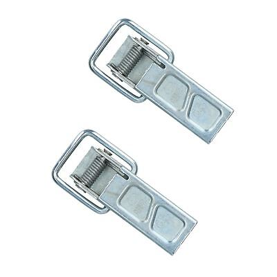 Over Centre Catch Toggle Clamp 10.5cm Spring Loaded Heavy Duty 2 PACK