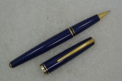 Montblanc Generation Blue Rollerball Pen W/New Refill