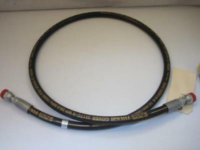 13293 Kalmar Sweeden 923828.0620 RT240 RTCH Hydraulic Hose 3/8 Female ORFS X 5'