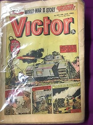 Victor Comics 19 copies from 1980