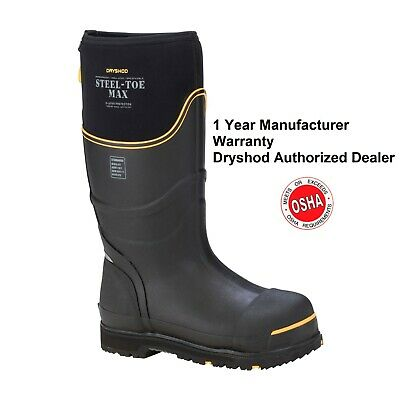 Dryshod Steel Toe Max Work Boot Extreme Conditions Sizes 7 - 16 Muck Boot Style