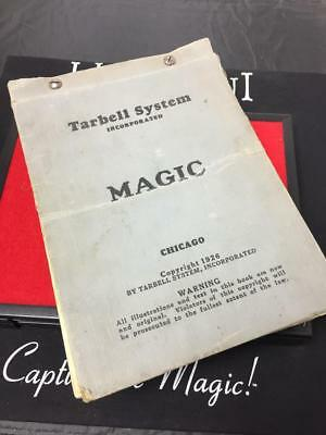 ORIGINAL Tarbell 1926 Bound BOOK of Weekly Magic Lessons TARBELL SYSTEMS INC.