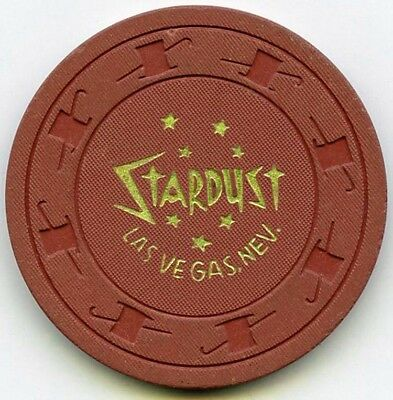 Stardust Hotel Casino - Las Vegas 25c Chip - Stardust's only 25c ever -1958