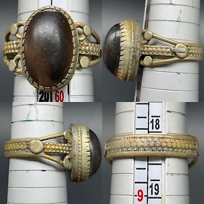 beautiful Rare Ring Ancient Roman Glass wonderful old ring
