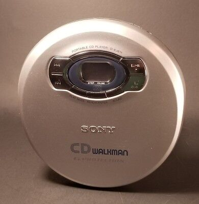 Sony CD Walkman G-Protection D-EJ611, 2000 Used Tested Great Condition!